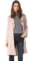 Cupcakes And Cashmere Adams Draped Coat Camel
