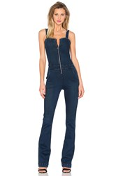 3X1 Zip Front Flare Jumpsuit Hall