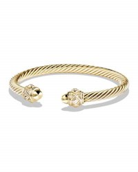 David Yurman Renaissance Bracelet In 18K Yellow Gold