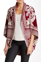 Romeo And Juliet Couture Open Cardigan Red