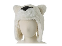 San Diego Hat Company Ffh6782 Fuzzy Polar Bear Hat Ivory Traditional Hats White