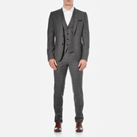 Hugo Men's Alid Slim Fit Suit Black