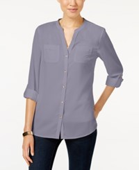Charter Club Petite Utility Shirt Only At Macy's Soft Dahlia