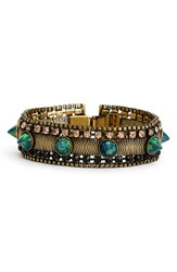 Lionette By Noa Sade Women's 'Pacific Rock Gilmore' Crystal Spike Bracelet