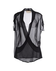 Met Shirts Blouses Women Black