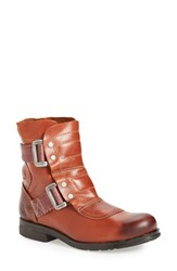 Fly London Women's 'Seli' Bootie Brick Rug Leather