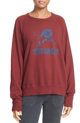The Great Women's Great. Graphic French Terry Sweatshirt