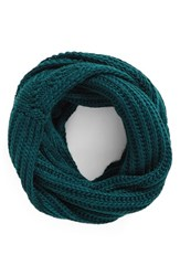 Women's Bp. Cable Knit Infinity Scarf Green