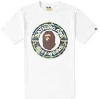 A Bathing Ape Abc Camo Busy Works Tee White