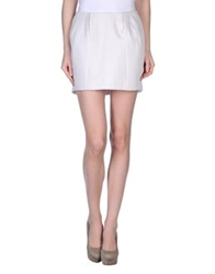 Twenty8twelve Mini Skirts Ivory