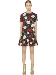 Blugirl Floral Print Light Techno Cady Dress