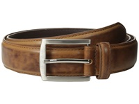 Stacy Adams 32Mm Full Grain Leather Top W Leather Lining Dress Belt Saddle Tan Men's Belts Brown