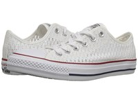 Converse Chuck Taylor All Star Crochet Ox White White Black Women's Shoes