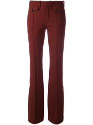 Chloe Fitted Flared Trousers