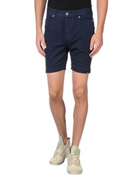 Zu Elements Trousers Bermuda Shorts Men Dark Blue