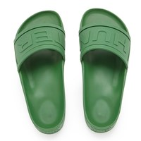 Hunter Men's Original Slide Sandals Bright Grass Green