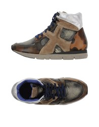 O.X.S. Footwear High Tops And Trainers Women Steel Grey