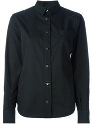 Sacai Lace Back Shirt Black