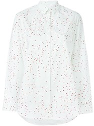 Paul Smith Ps Hear Print Shirt White