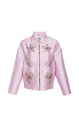 Gem Morgana Embellished Jacket Light Pink
