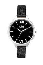 Topshop Limit Vintage Oversized Black Dial 6158.01 Watch Silver