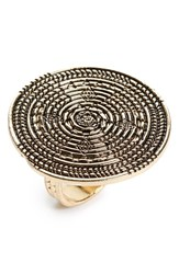 Women's Bp. Coil Medallion Ring