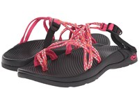 Chaco Zong X Reef Reds Women's Shoes Pink