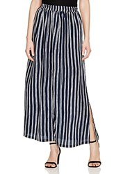 Scotch And Soda Striped Maxi Skirt