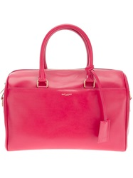 Saint Laurent 'Classic Duffle 6' Tote Pink And Purple