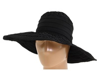San Diego Hat Company Rbl4770 Crushable Ribbon Floppy Sun Hat Black Knit Hats