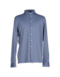 Gran Sasso Shirts Shirts Men Slate Blue