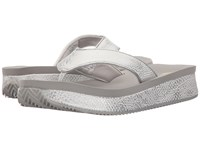 Volatile Bomba Silver Women's Wedge Shoes