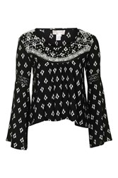 Indian Print Blouse By Band Of Gypsies Multi