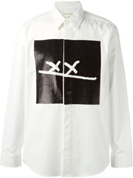 Marc Jacobs Sequin Xx Print Shirt White