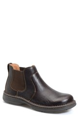 Born Men's Born 'Buck' Chelsea Boot Mahogany Leather