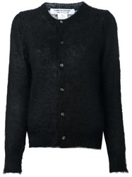 Comme Des Garcons Button Down Cardigan Black