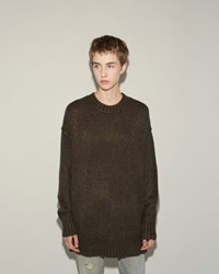 R 13 Oversized Sweater Olive