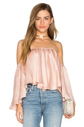Backstage Rianna Top Rose