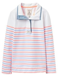 Joules Cowdray Stripe Sweatshirt Summer Stripe