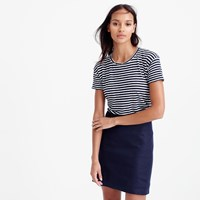 J.Crew Relaxed Linen T Shirt In Stripe