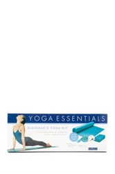 Gaiam Beginner's Yoga Kit 4 Piece Set No Color