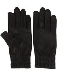 Rick Owens Short Gloves Black