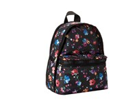 Le Sport Sac Basic Backpack Impressionist Flower Backpack Bags Black