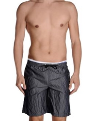 Just Cavalli Beachwear Swimming Trunks Lead