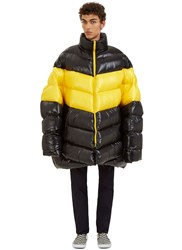 Raf Simons Oversized Down Quilted Jacket Black