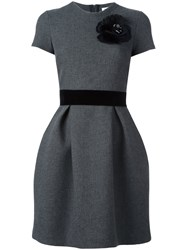 P.A.R.O.S.H. 'Ryan' Mini Dress Grey