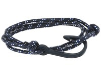 Miansai Navy Hook On Rope Bracelet Indigo Bracelet Blue