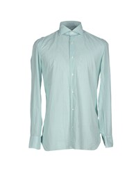 Luigi Borrelli Napoli Shirts Shirts Men Green