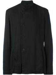 Poeme Bohemien Buttoned Jacket Black