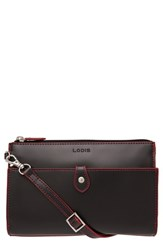 Lodis 'Audrey Collection Vicky' Convertible Crossbody Bag Black